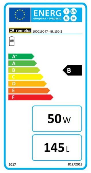 Remeha RE Trinkwasserspeicher BL 150-2 EC619, Beistellspeicher, 150 L., weiß