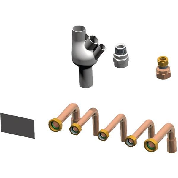 Remeha Rohranschlussset für Montagerahmen