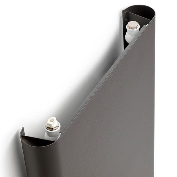 Henrad Alto Swing Vertikalheizkörper Typ 11, einreihig ein Konvektor