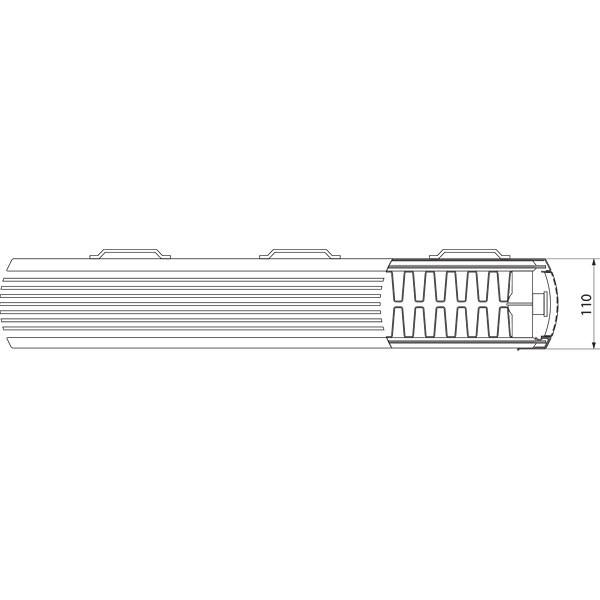 Purmo Dekorativheizkörper Kos H Typ 22, zweilagig zwei Konvektoren
