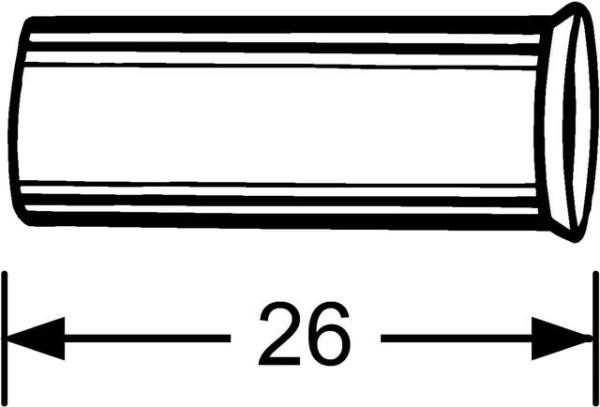 HEIMEIER Stützhülse für 15 mm Kupfer- u. Präzisionsstahlrohr
