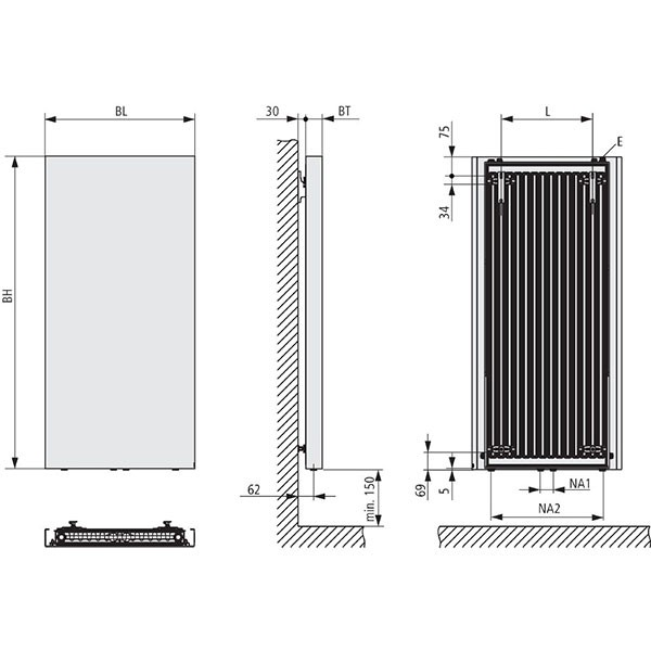 Kermi Rubeo Design-Badheizkörper