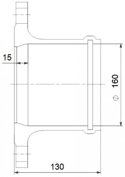 GRUNDFOS Montageset DN 80 GRUNDFOS # 96001999