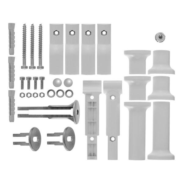 Kermi Befestigungs-Set Raumteiler für Basic-50, -E