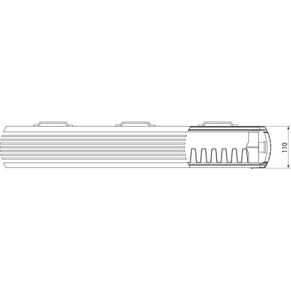 Purmo Dekorativheizkörper Kos H Typ 21, zweilagig ein Konvektor