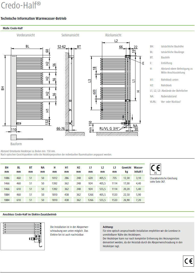 kermi credo half design badheizk rper alternative haustechnik. Black Bedroom Furniture Sets. Home Design Ideas