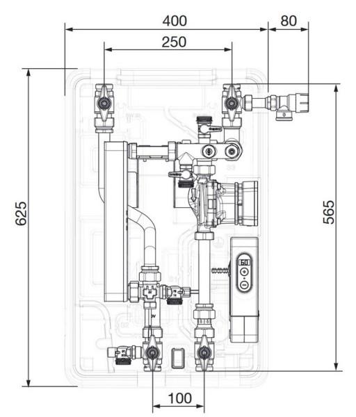 AHT Frischwasserstation Regumaq X-25 mit HE-Pumpe