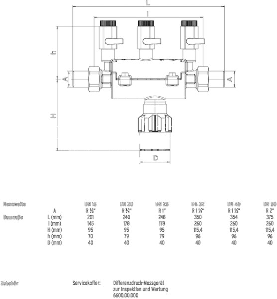 """SYR Systemtrenner 6610, LF DN 32, R 1 1/4"""""""