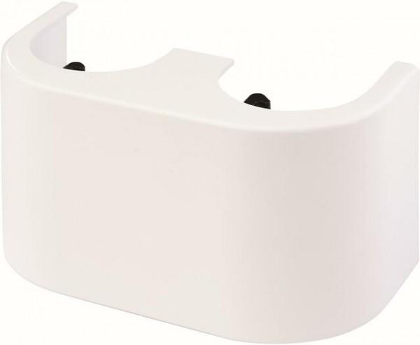 SIMPLEX Designverkleidung für Zweirohr-Hahnblöcke 50mm weiß