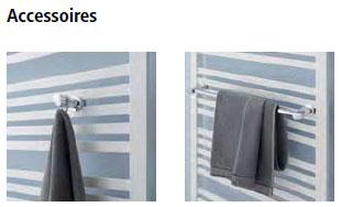 Accessoires Kermi Geneo quadris-Elektro Design-Badheizkörper