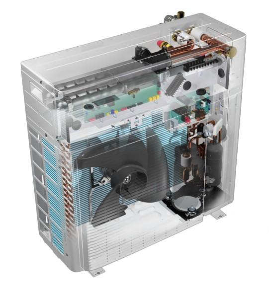 DAIKIN Altherma H Hybrid, AG 4 kW 1-phasig/230V, Hydrosplit-Ausführung, EJHA04AV3