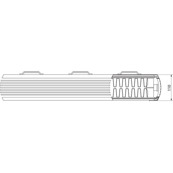 Purmo Dekorativheizkörper Faro H Typ 22, zweilagig zwei Konvektoren