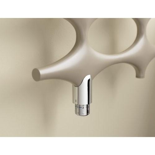 Kermi Ideos-Ventil Design-Badheizkörper