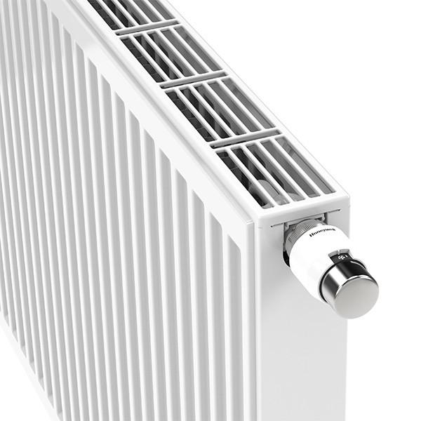 Henrad Premium All In Profil-Ventilheizkörper Typ 33, dreireihig drei Konvektoren