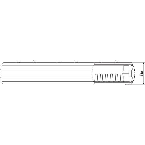 Purmo Dekorativheizkörper Faro H Typ 21, zweilagig ein Konvektor