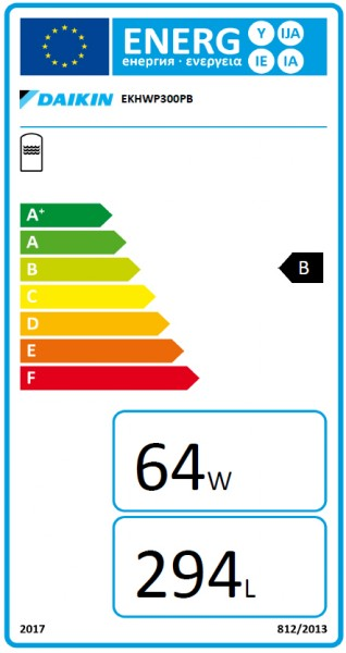 DAIKIN Altherma ST 343/19/0-P für WP 300 L Wärme- und Solarspeicher, Drucksolar-Wärmetauscher