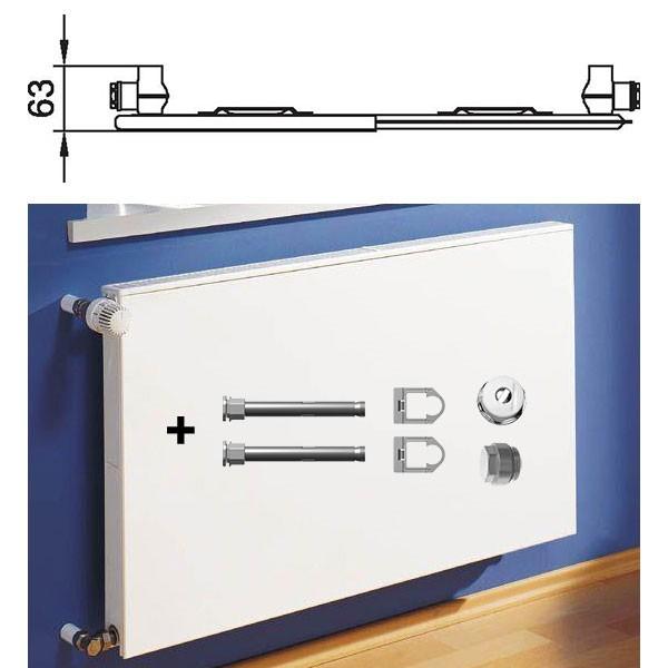 kermi therm x2 plan kompaktheizk rper typ 10 einreihig ohne konvektor alternative haustechnik. Black Bedroom Furniture Sets. Home Design Ideas