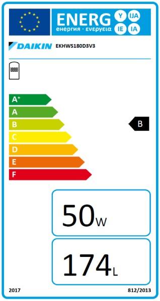 DAIKIN EKHWS180D3V3, 180 Liter Trinkwasserspeicher zur DAIKIN Altherma 3 R W / 3 H H T W