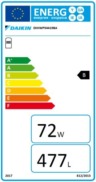 DAIKIN Altherma ST 544/19/0-DB für WP 500 L Wärme- und Solarspeicherr, Drain-Back Solar