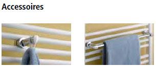 Accessoires Kermi Duett-Elektro Design-Badheizkörper