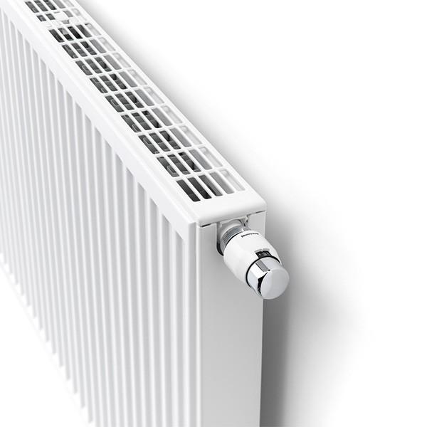 Henrad Premium ECO Profil-Ventilheizkörper Typ 22, zweireihig zwei Konvektoren