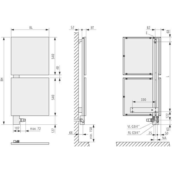 Kermi Signo Design-Badheizkörper