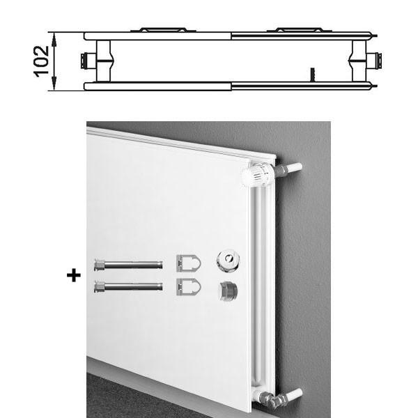kermi therm x2 plan kompakt hygieneheizk rper typ 20 zweireihig ohne konvektor alternative. Black Bedroom Furniture Sets. Home Design Ideas