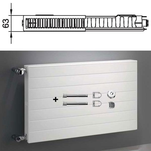 Verlegeprofil für 16 mm Stegplatten in Randausführung ALU
