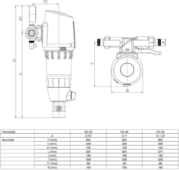 SYR Hauswasserstation 2000 Plus DN,20