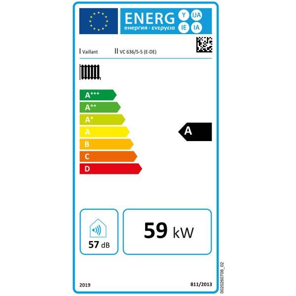 Vaillant Gas-Wandheizgerät ecoTEC plus VC 636/5-5 E Brennwerttechnik