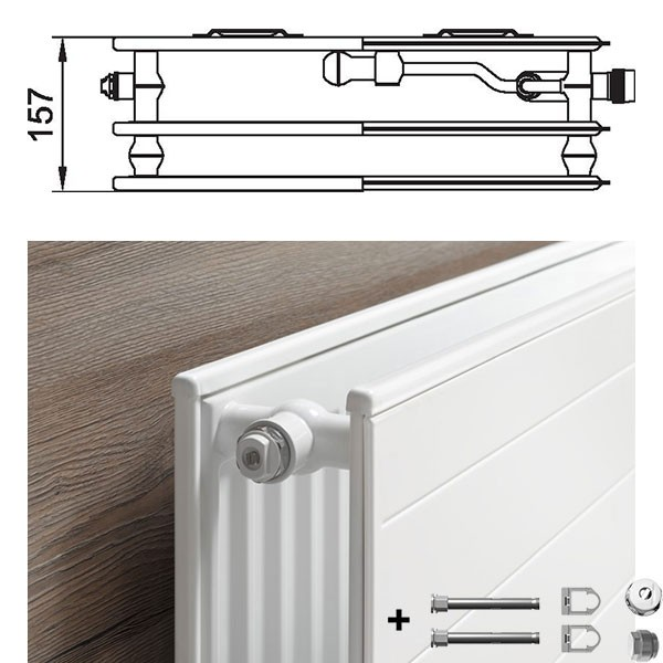 kermi therm x2 line vplus ventil hygieneheizk rper typ 30 dreireihig ohne konvektor. Black Bedroom Furniture Sets. Home Design Ideas