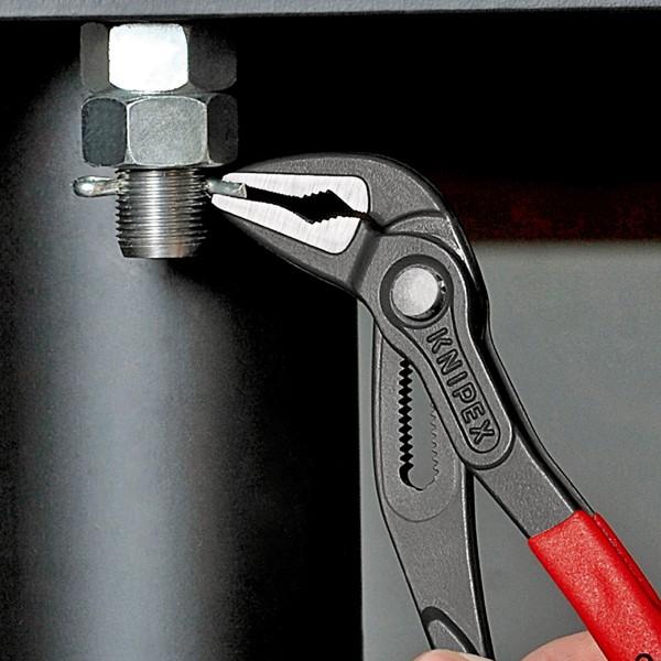 Knipex Cobra ES Wasserpumpenzange, extra schlank, 250mm