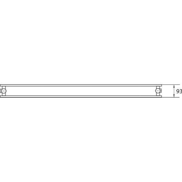 Purmo Dekorativheizkörper Narbonne Vertikal Ventil Typ 20, zweilagig ohne Konvektor
