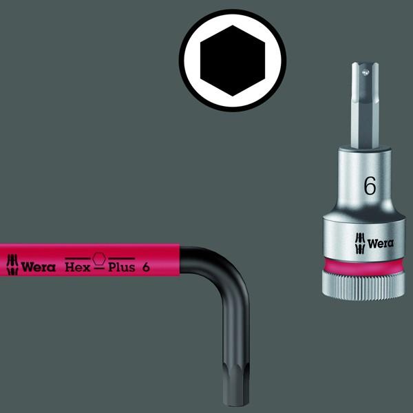 Wera Winkelschlüssel-Satz Hex-Plus Multicolour HF 1