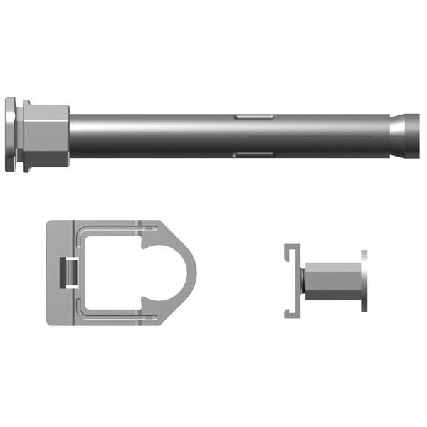 Kermi Bohrkonsolen als 3. Konsole ab Baulänge 1800mm (Set)