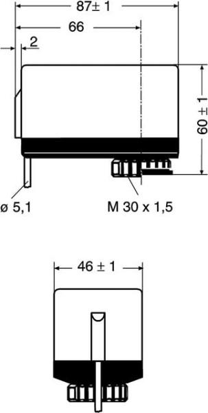 HEIMEIER Elektromot. Stellantrieb EMO 3 als Dreipunktantrieb