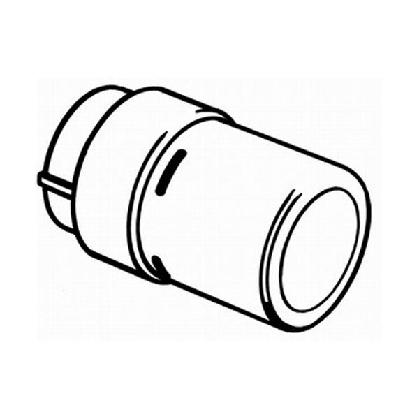 DANFOSS Living Design Fühlerelement 8-28Gr.C, RAX-K, weiß RAL 9016