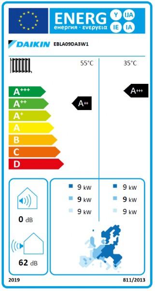 DAIKIN Altherma 3 M H/C 9 BUH3, Wärmepumpen-Außengerät, 3-phasig/400V