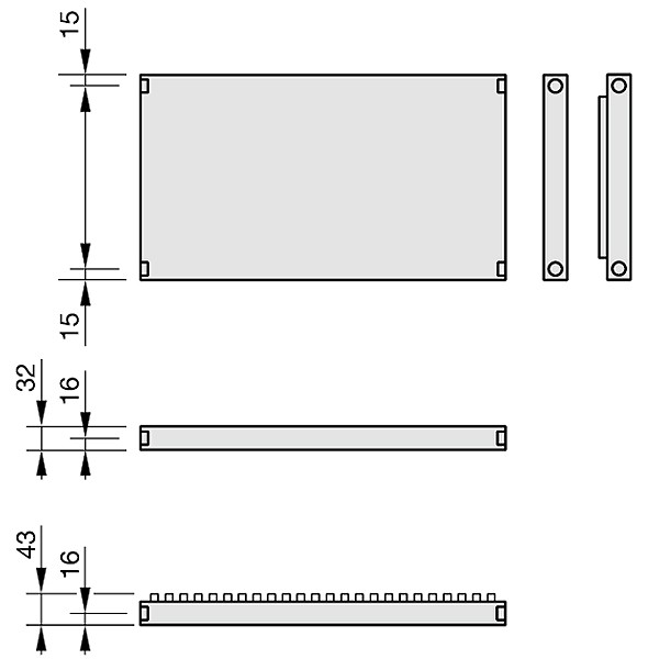 Zehnder Plano, Heizwand Typ PH10, horizontal